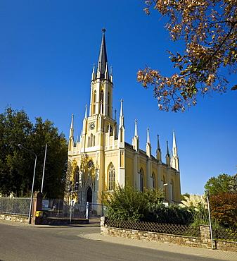 Protestant Church of St. John, Eltville am Rhein, Hesse, Germany.