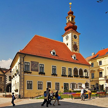 Town hall in Moedling, Lower Austria, Austria, Europe