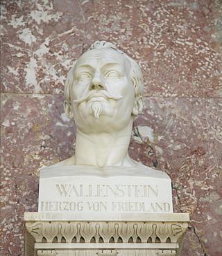 Bust of Albrecht von Wallenstein, Duke and General of the Thirty Years' War