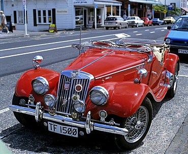 MG TF 1500, vintage car, sports car in Auckland, North Island, New Zealand