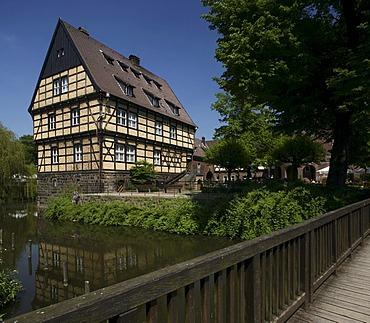 Wittringen Castle, Gladbeck, North Rhine-Westphalia, Germany, Europe