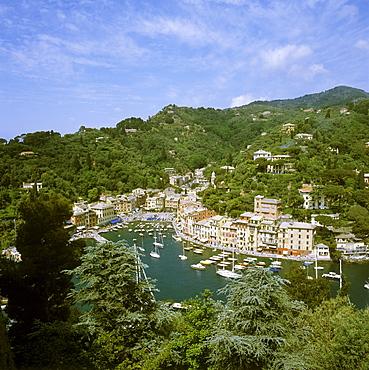Portofino province of Genua Italy Italia port
