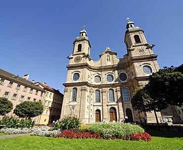 Dom zu St. Jakob (Innsbrucker Dom), Innsbruck, Tyrol, Austria