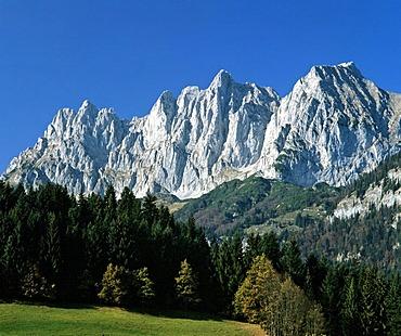 Wilder Kaiser, Kaisergebirge, Tyrol, Austria