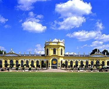 Baroque-era orangery in Kassel, Hesse, Germany, Europe