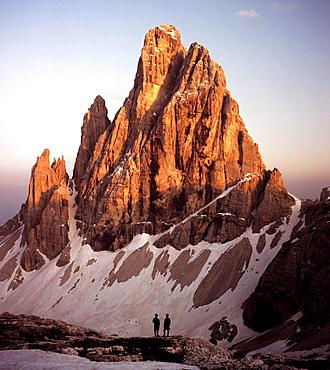 Mt. Croda dei Toni (or Mt. Zwoelferkofel), Dolomites, Bolzano-Bozen (South Tirol), Italy, Europe