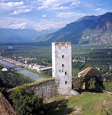 Sigmundskron Castle, Reinhold Messner's mountain museum, Bozen, Province of Bolzano-Bozen, Italy
