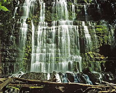 Waterfall, Mount Field National Park, Tasmania, Australia
