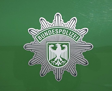 DEU, Germany : Logo of the german border police, immigration control. |