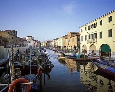 Chioggia, Vena canal, Veneto, Italy