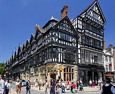High Cross in the centre of Chester, Cheshire, Great Britain