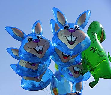 "Balloons, ""Roger Rabbit"" and a dinosaur"