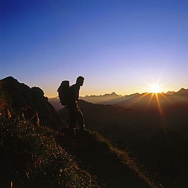 Sunrise, Tuxer Alps, Austria