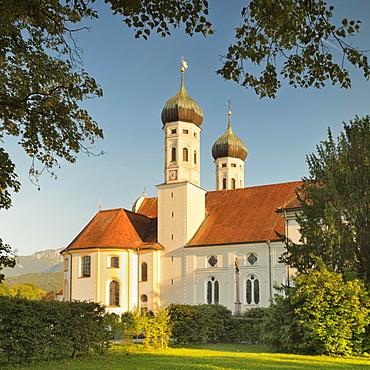 Benediktbeuren Monastery, Benedictine monastery, Benediktbeuren, Upper Bavaria, Bavaria, Germany, Europe