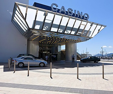 Casino on the Croisette, Cannes, Cote d'Azur, Southern France, France, Europe, PublicGround