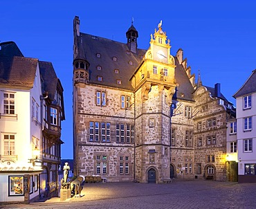Town Hall, Marburg, Hesse, Germany, Europe, PublicGround