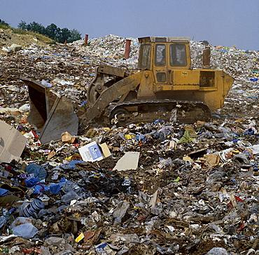 environmental destruction pollution refuse pit Germany