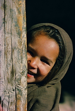 Portrait of a young girl, Pakistan, Asia