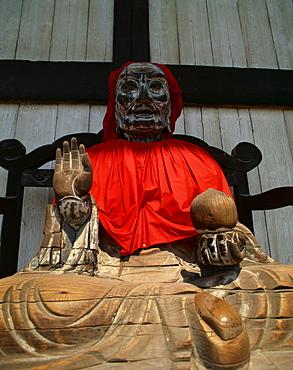 Good Health statue, Todaiji Temple, Nara, Japan, Asia