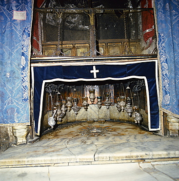 Church of the Nativity, Bethlehem, Israel, Middle East