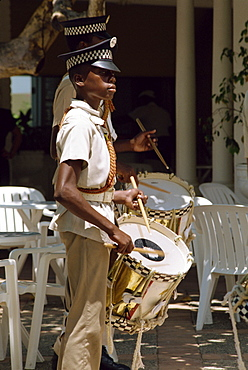 Boys Club marching band, Montego Bay, Jamaica, West Indies, Caribbean, Central America