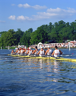 Royal Regatta, Henley on Thames, Oxfordshire, England, United Kingdom, Europe