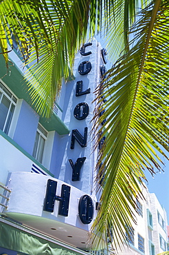 Art deco area, Miami Beach, Miami, Florida, United States of America, North America
