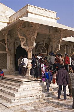 Fatehpur Sikri, built by Akbar in 1570, UNESCO World Heritage Site, Uttar Pradesh state, India, Asia