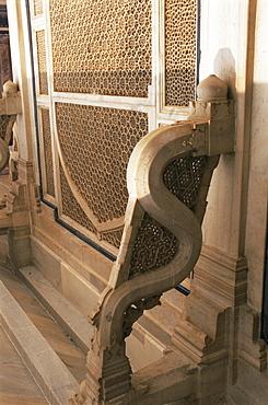 Fatehpur Sikri, built by Akbar in 1570, Uttar Pradesh state, India, Asia