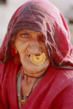 Old woman, Jodhpur, Rajasthan, India