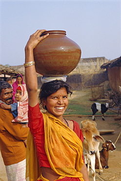 Village life, Dhariyawad, Rajasthan, India