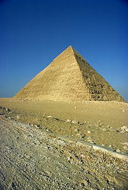 Chephren Pyramid, Giza, UNESCO World Heritage Site, Giza, near Cairo, Egypt, North Africa, Africa