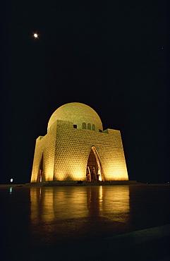 Quaid-i-Azam Memorial, Karachi, Pakistan, Asia