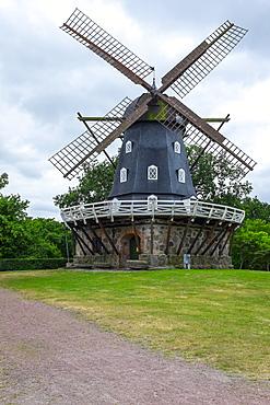 Traditional Swedish windmill, Malmo, Sweden, Scandinavia, Europe