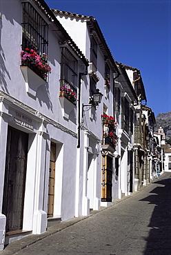 Street scene, Grazalema, Andalucia, Spain, Europe