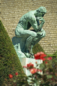The Thinker by Rodin, Musee Rodin, Paris, France, Europe