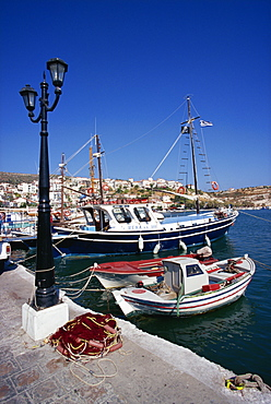 Waterfront, Pythagorio, Samos, Dodecanese, Greek Islands, Greece, Europe