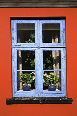 Window, Aeroskobing, Aero, Denmark, Scandinavia, Europe