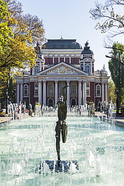 Ivan Vasov, National Theatre, City Garden Park, Sofia, Bulgaria, Europe