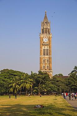 University of Mumbai, Rajabai Clock Tower, Mumbai, Maharashtra, India, Asia