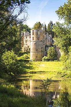 Beaufort Castle, Beaufort, Luxembourg, Europe