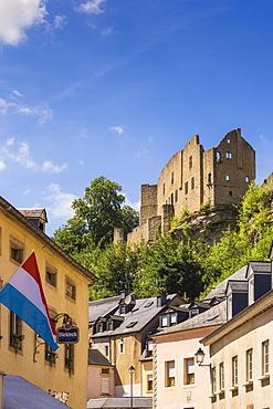 Larochette Castle, Larochette, Luxembourg, Europe