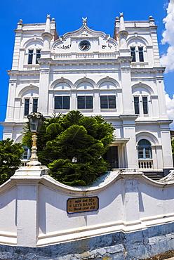 Meeran Jumma Masjid Mosque, Old Town, Galle, South Coast, Southern Province, Sri Lanka, Asia