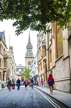 All Saints Church (Lincoln College Library), High Street, Oxford, Oxfordshire, England, United Kingdom, Europe