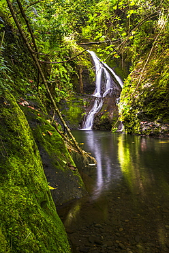 Wigmore's Waterfall, Rarotonga, Cook Islands, South Pacific, Pacific