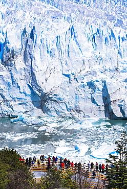 Perito Moreno Glaciar, Los Glaciares National Park, UNESCO World Heritage Site, near El Calafate, Patagonia, Argentina