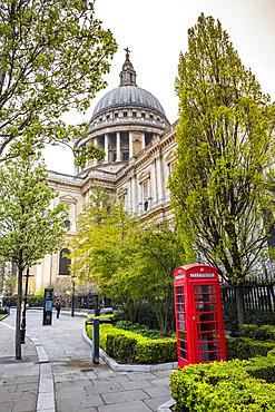 St. Pauls Cathedral, City of London, London, England, United Kingdom, Europe