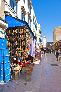 Market stall in Essaouira, formerly Mogador, UNESCO World Heritage Site, Morocco, North Africa, Africa