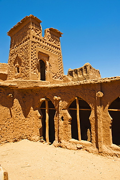 Inside Kasbah Ait Ben Haddou, UNESCO World Heritage Site, near Ouarzazate, Morocco, North Africa, Africa