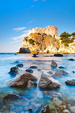 Fort Lovrijenac (St. Lawrence Fortress) at sunrise, Dubrovnik, Dalmatian Coast, Adriatic, Croatia, Europe